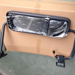 Freightliner Century chrome door mirror, heater and electric function rearview mirror