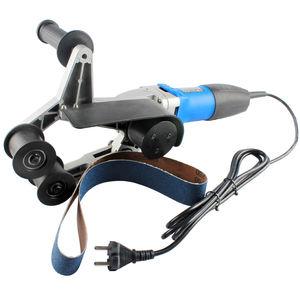 Raizi 220V Handheld electric stainless steel pipe tube belt sander/grinder/polisher with sanding belts