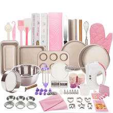 2021 Complete Cake Baking Set Bakery Tools for Beginner Adults Baking sheets bakeware sets baking tools set