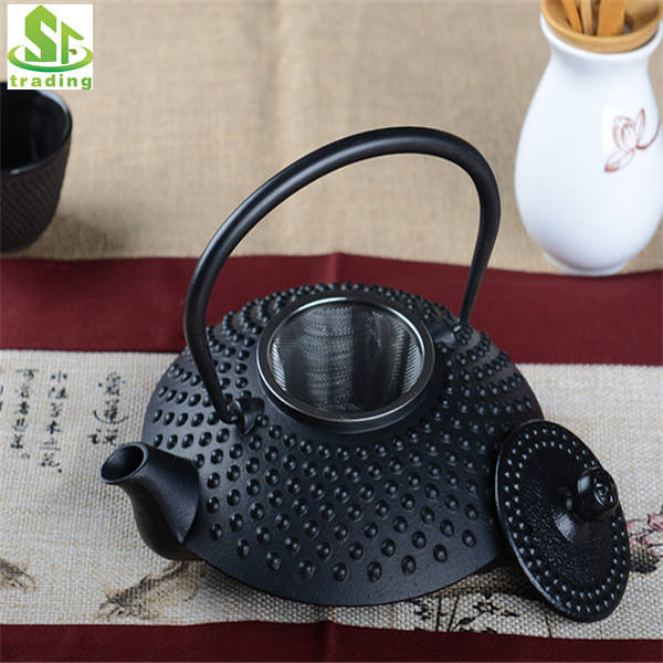 Chinese popular selling cast iron teapot with 0.3 L / 0.5L / 1.2L