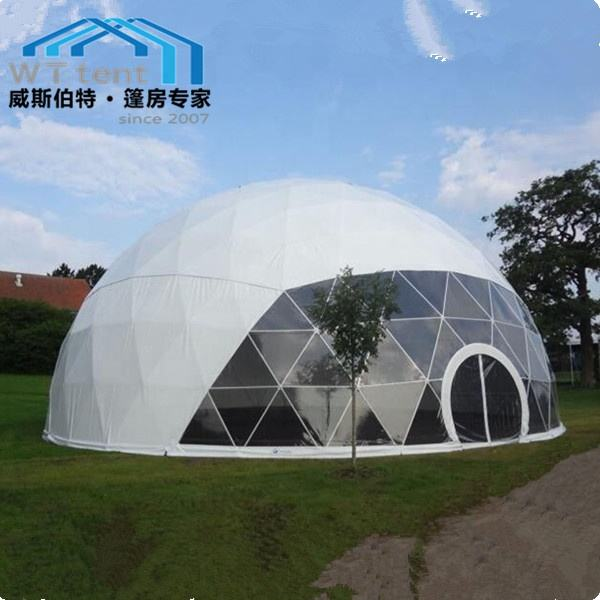 15m diameter igloo large geodesic dome tent house for outdoor activities