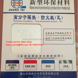 Polymer insulation Fire prevention board (W) New environmental protection material