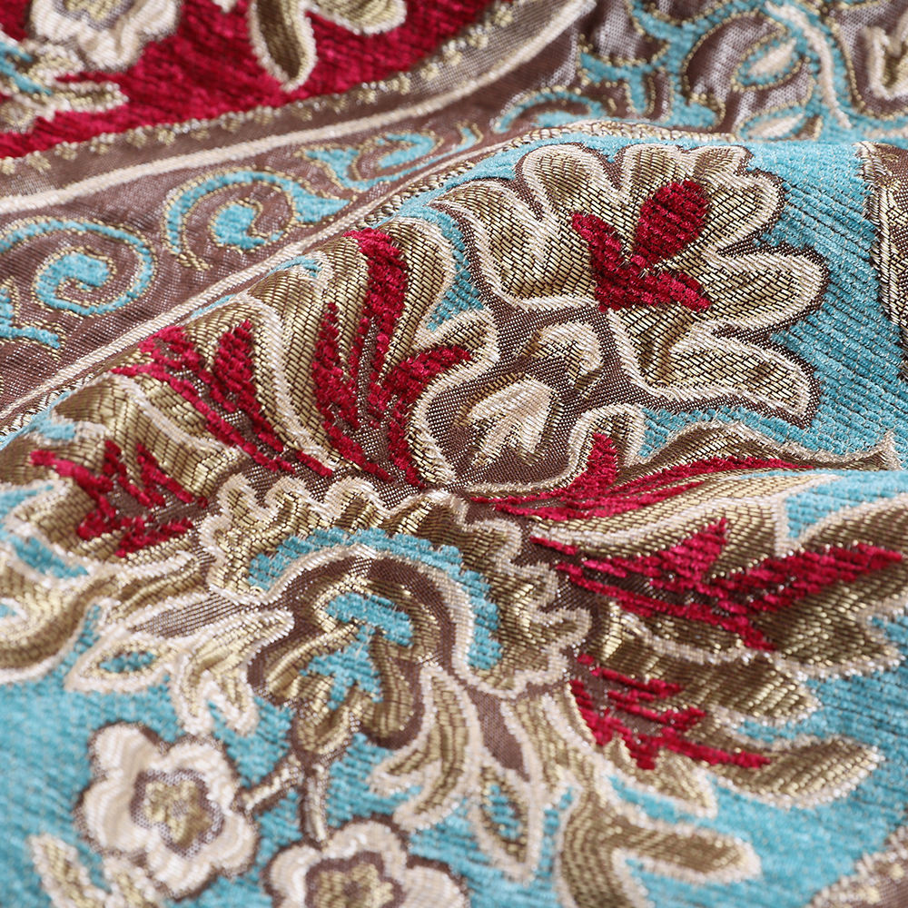 Nuevo Suave Espiga Liso Chenille Resistente Calidad Marrón Tela de tapicería