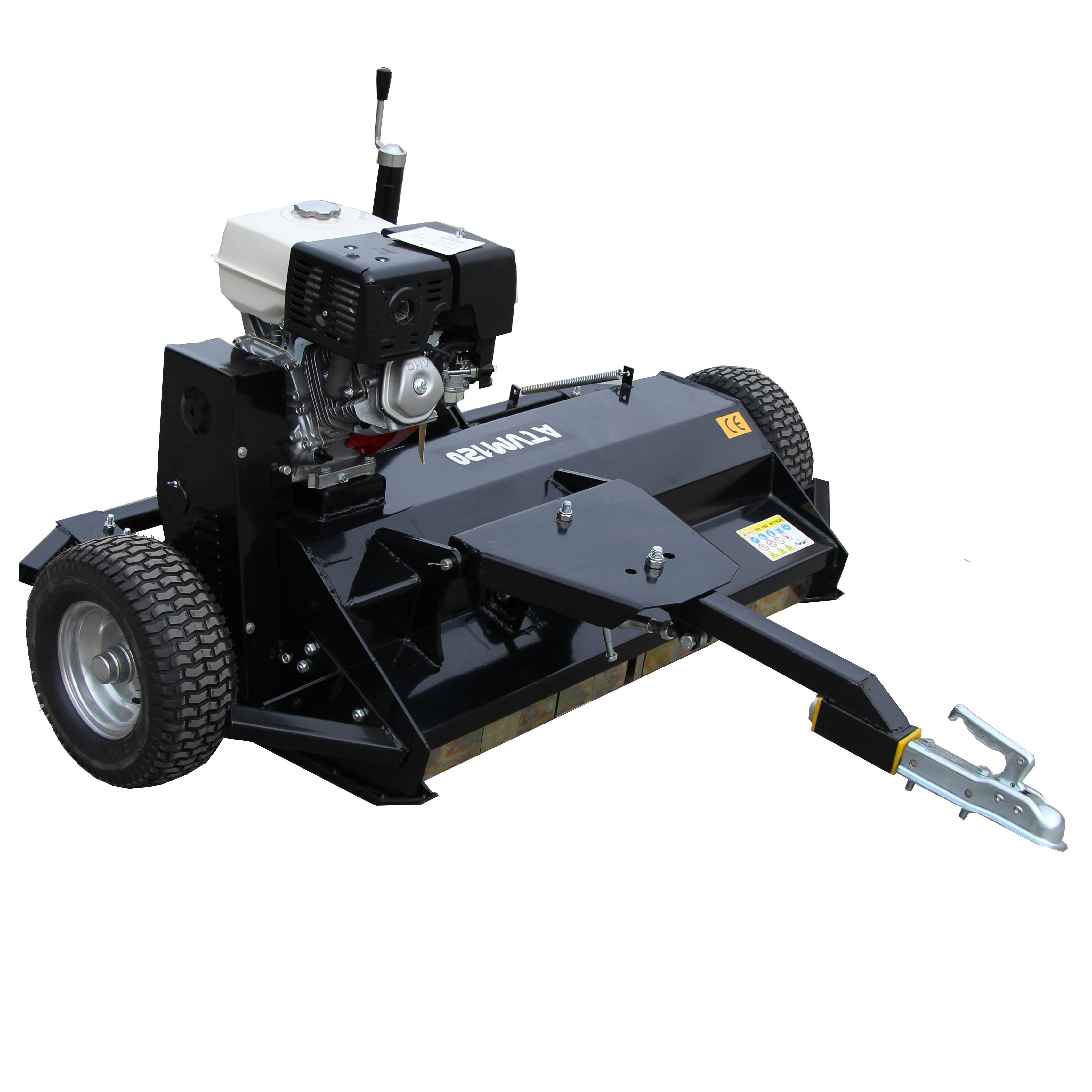 Factory Price Gasoline Power ATVM120 Flail Mower for ATV