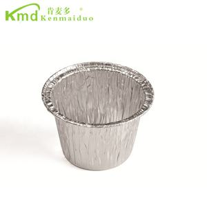 Aluminum foil disposable muffin pan round bulk food containers