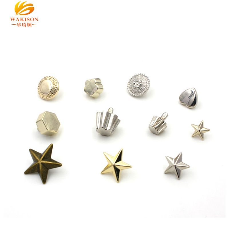Wakison bag/clothing accessories various type metal pop rivet