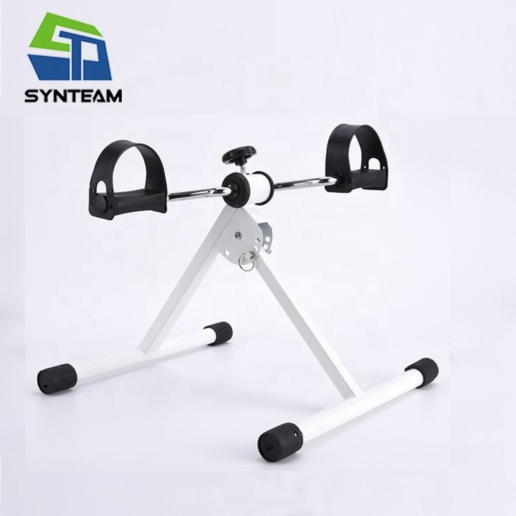 Indoor trainer arm bein klapp zyklus mini heimtrainer pedal exerciser