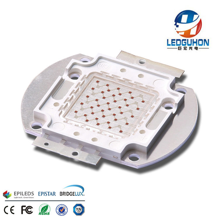 50w grow led light red 660nm and blue 460nm chips matching led cob