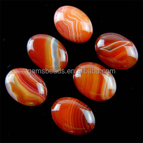 Gemstone agate oval cabochon setting wholesale