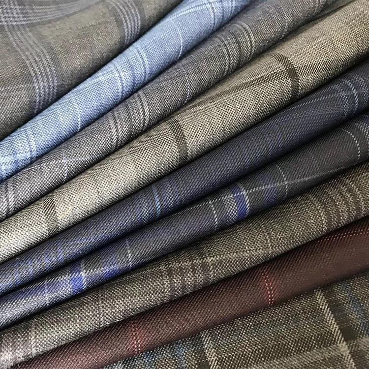 2019 merino worsted wool fabric for suit ready stock