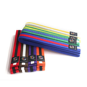 Custom Strip color karate belt Martial Arts color karate Belts Taekwondo Belts