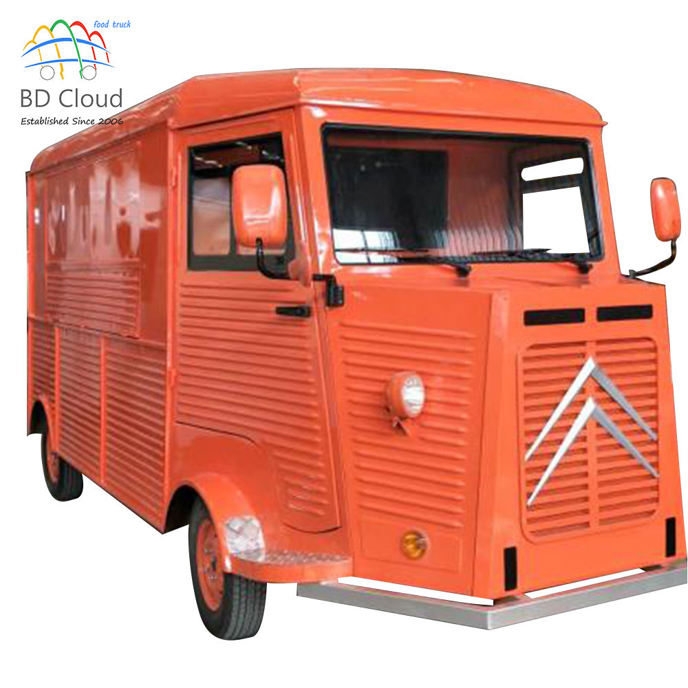 Best sale customized vintage food trucks sale in malaysia