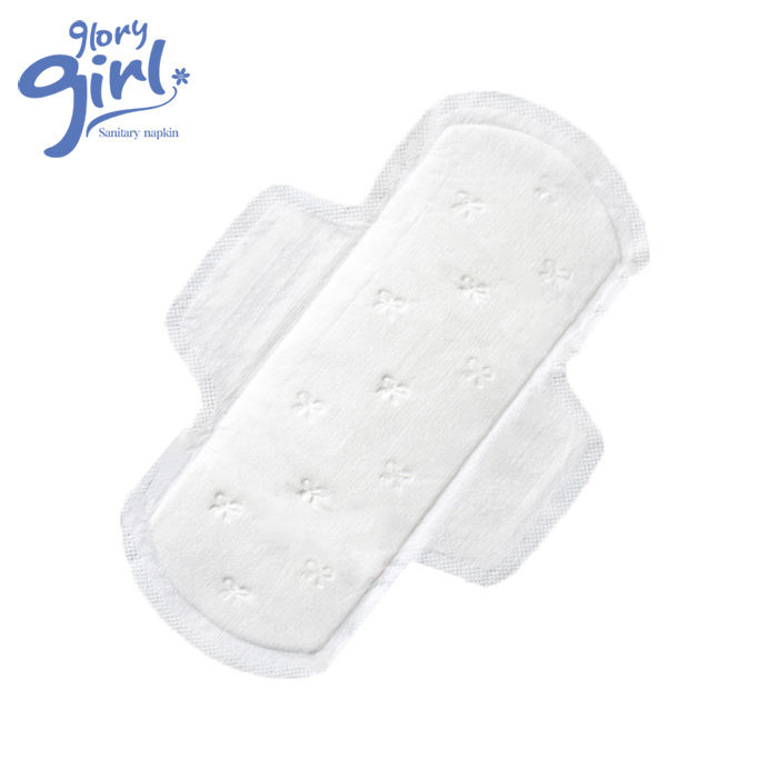 Feminine hygiene products organic cotton sanitary napkin lady care regular menstrual pad supplier