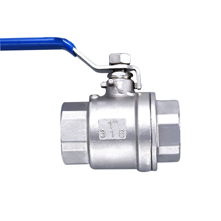 High quality China Made 2 pc Stainless Steel Ball Valve 2pc clamp ball valve