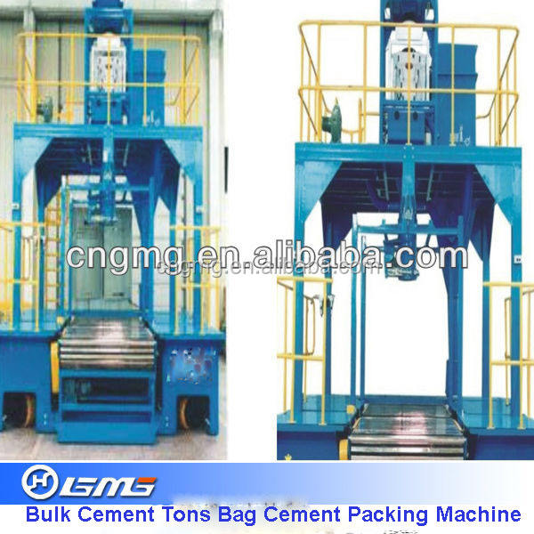 1-2tons Bulk cement packaging, cement packing machine for cement plants