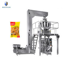 Full automatic weighing samosa kerala food packing machine with nitrogen