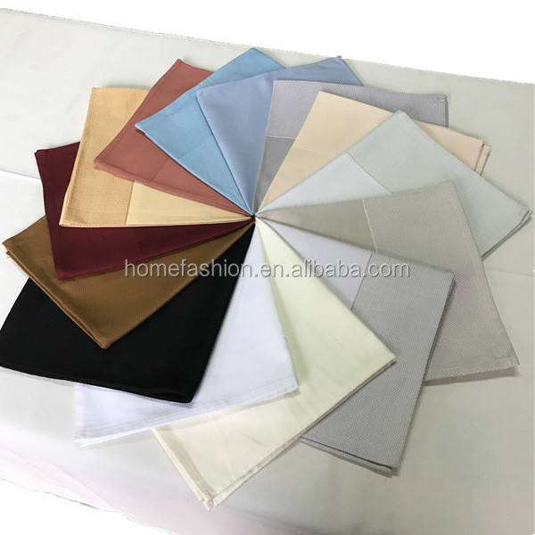 100 cotton partridge eye band cloth table napkin