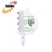 Factory Direct Price meter garden weather Rain Gauge