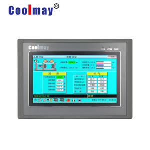 7 pollici display HMI pannello analogico PLC all in one