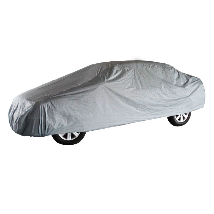 Hot sale Single-use Outdoor PEVA Promotion Gift Car Cover Waterproof SUV Cover