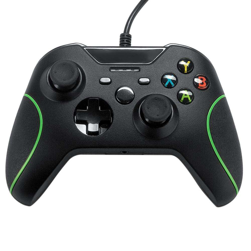 Manette filaire usb pour <span class=keywords><strong>Xbox</strong></span> One, noire