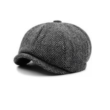Fashion 8 panel mens newsboy cap wholesale