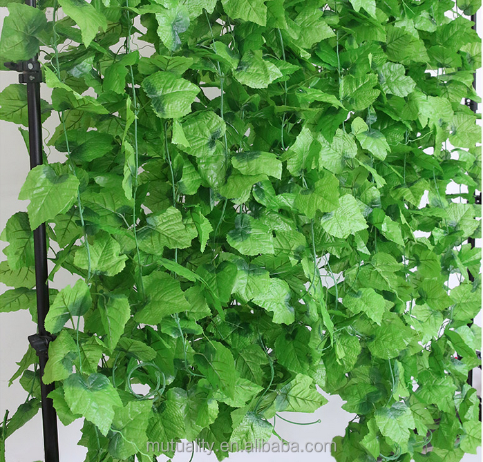 New fashion besting selling product artificial ivy artificial grape vines for decoration