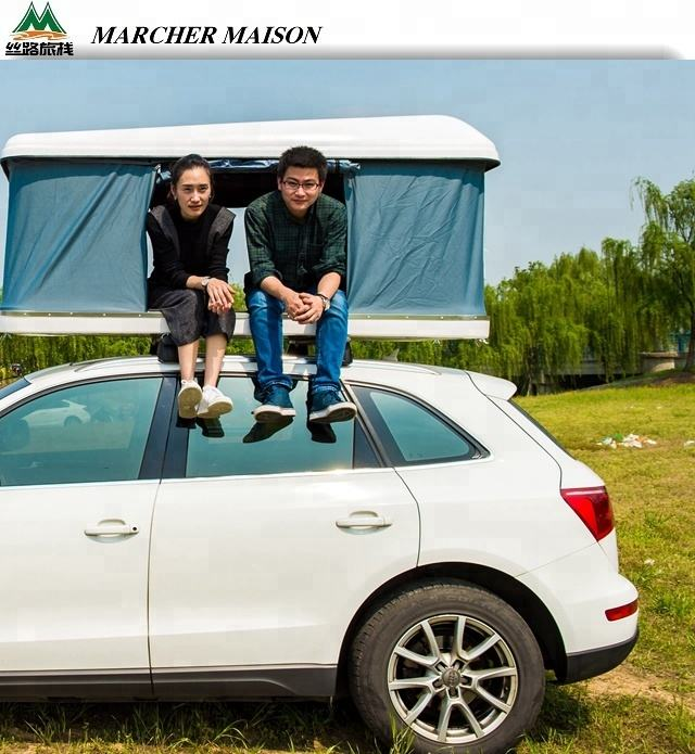 2019 MARCHER MAISON Strong Waterproof Foldable Car Roof Top Tent For Outdoor Sports