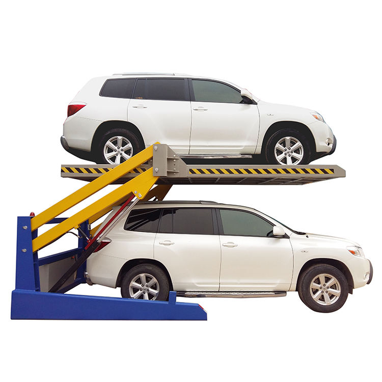 Full Automatic 2 Level Car Parking Lift Underground Garage Lift