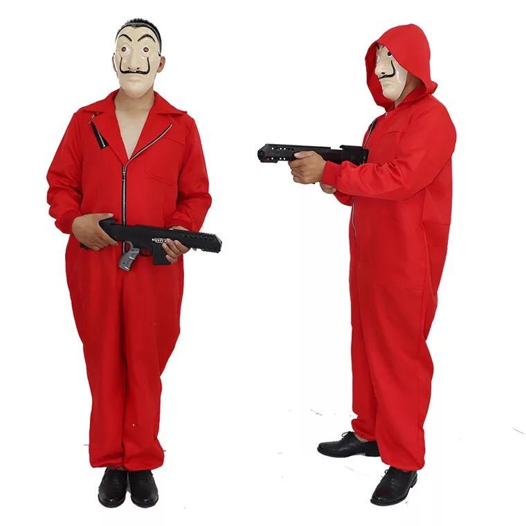 Salvador Dali Cosplay Costume La Casa De Papel Cosplay Jumpsuits