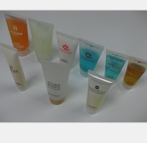 Hotel bath shampoo/shower gel/body lotion and conditioner 30ml/50ml with customized logo and print