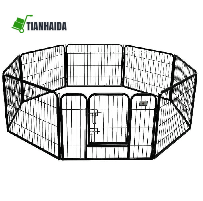 8 Pieces Panel Dog cages / Kennels / Playpen Fence - Heavy Duty for sale