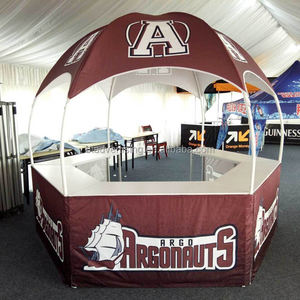 Hexagon Promotionele Kiosk Dome Tent, Outdoor 3X3 M Booth Tent, Feesttent Tent