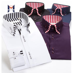 Latest Fashion Design Mens Dress Multi Plaids Shirts