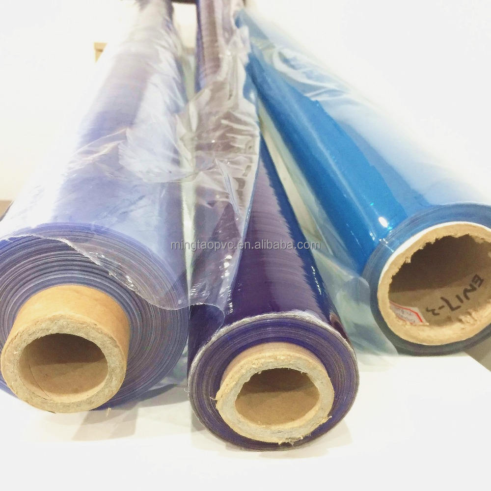 PVC super clear film for tent window/table cloth/packing