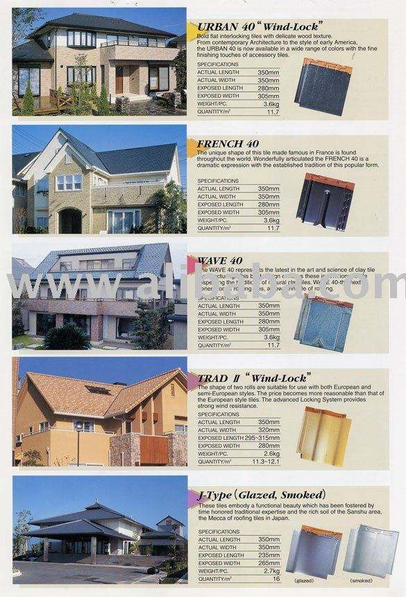 Clay Roofing Tiles Buy Clay Roofing Tiles Product On Alibaba Com