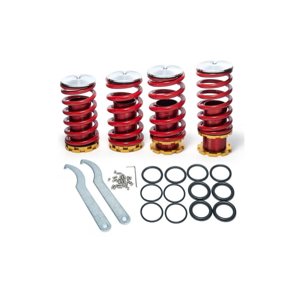 For 1988-2000 Honda Civic//CRX Silver Suspension Scale Hi Lowering Coilover Sprin