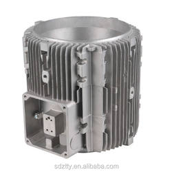 aluminum die casting electric motor body