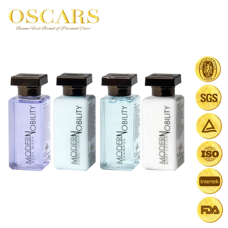 Hot sell 100% luxury 5 star hotel amenities set hotel products in discount