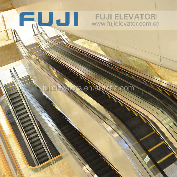 Fuji escalator with 600 mm to 800 mm 1000 mm steps width