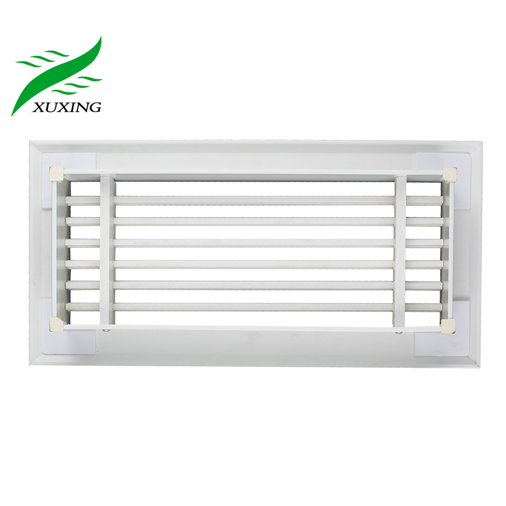 PVC or ABS sheet adjustable air register vents pvc grill ventilation diffusers