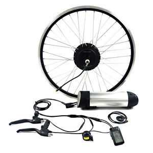 Greenpedel wasserdichte 36 V 350 W ebike hub motor conversion kit mit 8.8Ah batterie 26 28 zoll