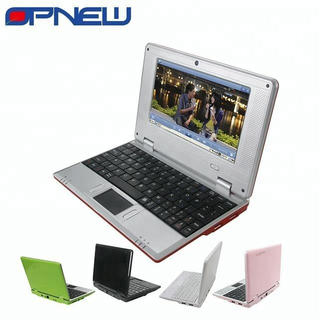 "Mini 7 ""laptop PC komputer Laptop wm8880 1.52 GHz Android 4.4 dengan WIFI HDM port RJ45 netbook untuk anak mahasiswa"