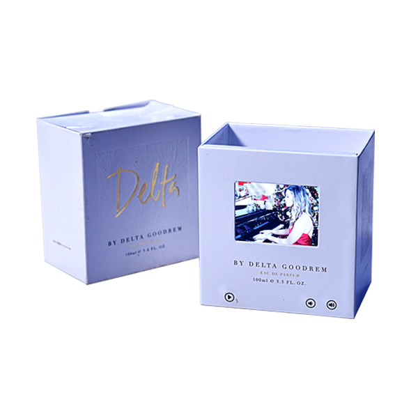 Digital LCD Video Brochure Card, Promotional Video Mailer Box