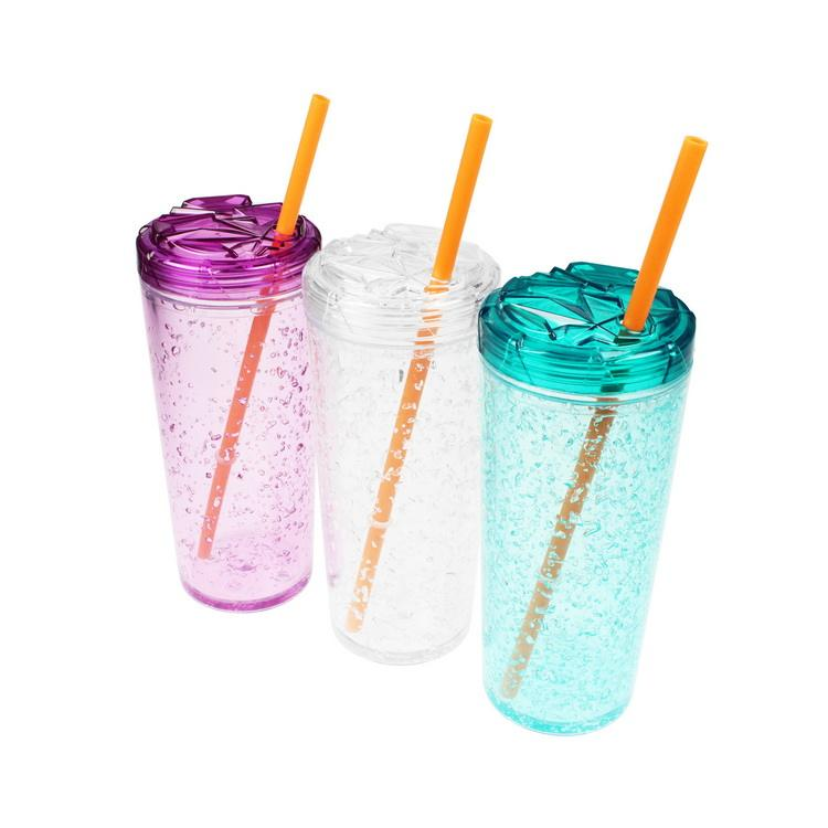 Wholesale Cheap OEM SAN Plastic Colorful Drinks Tumbler