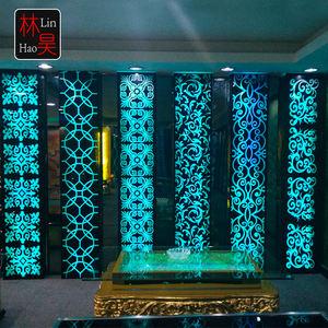صالة مأدبة قاعة ktv حزب ضوء الجدار الديكور