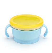 YDS  Hot Selling Silicone Snack& Food  Bowl  For Toddlers Non-spill  Baby Food Cup