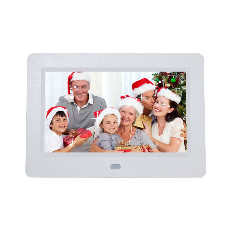 Christmas present 16:9 vider playback clock mp3 lcd monitor 7 inch digital photo frame