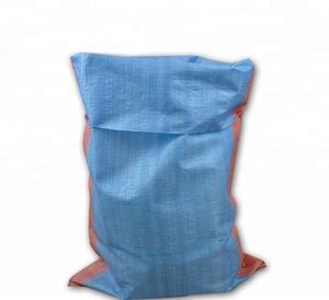 25kg 50kg pp woven polypropylene corn starch bags empty fertilizer grain rice feed sugar jute sack