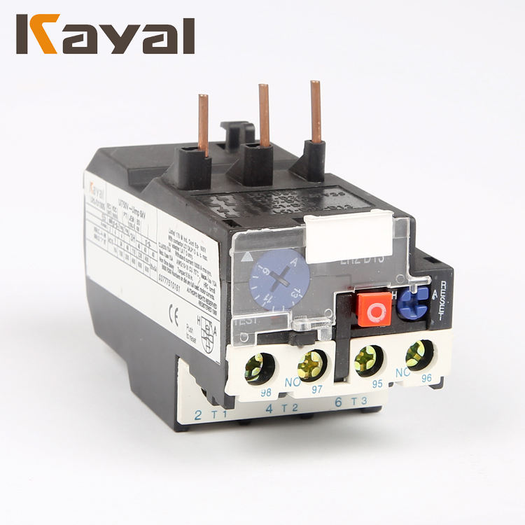 CE certificate 85% silver three phase failure protection 1.6-2.5A LR2-D1307 thermal Overload electronic over current Relay